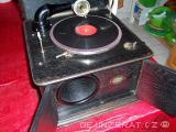 UNIKÁT: Prodám nádherný obří funkční starožitný gramofon EDELTON