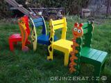 Dětska ECO židlička